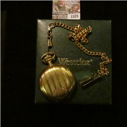 1525 _ Westclock Pocket Watch With Box