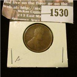 1530 _ 1909 P U.S. Lincoln Cent