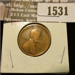 1531 _ 1910 P Lincoln Cent. VF.