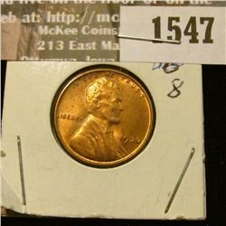 1547 _ 1936 P U.S. Lincoln Cent, Red Uncirculated.