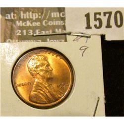 1570 _ 1950 P U.S. Lincoln Cent, Brilliant Uncirculated.