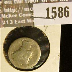 1586 _ 1916 s Mercury Dime, AG.