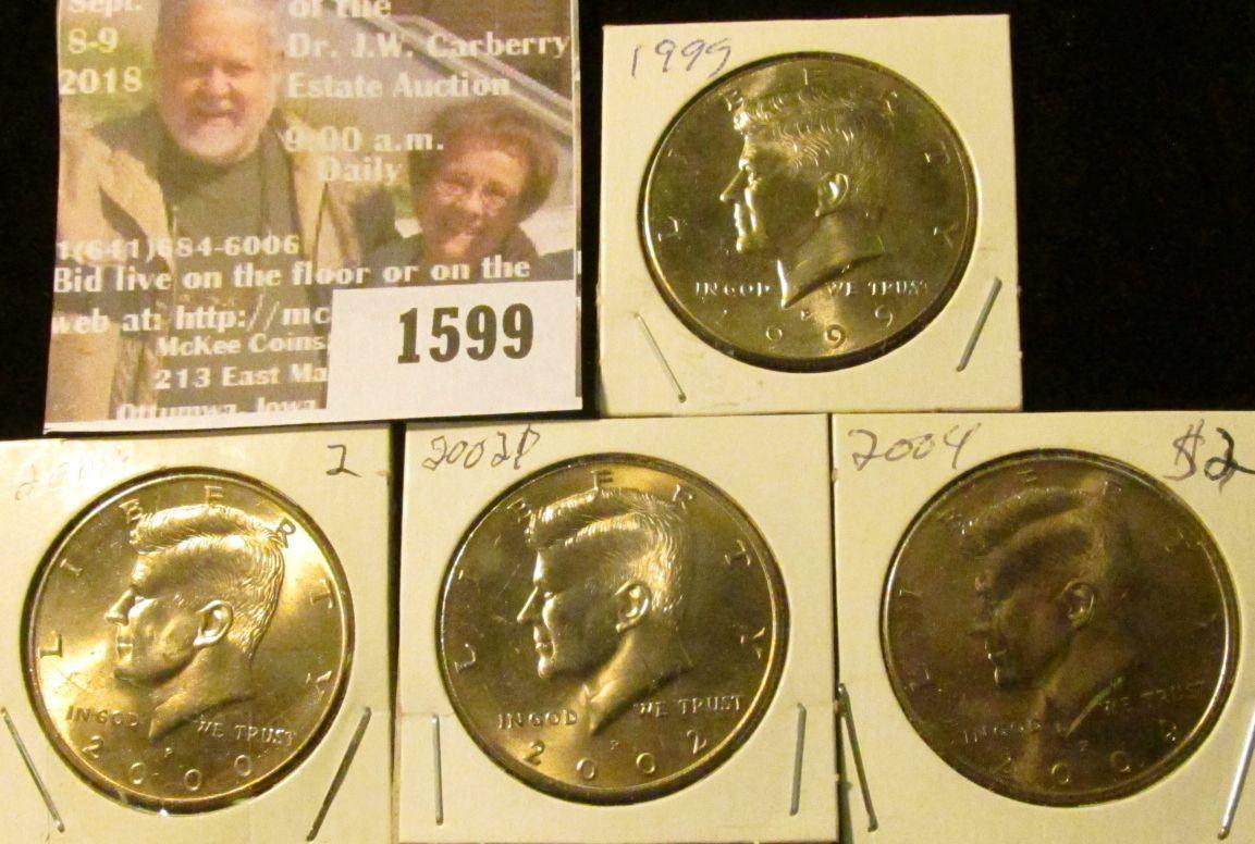 2004-P Kennedy Half Dollar Uncirculated BU