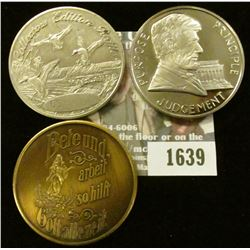 1639 _ 1778-1978 Crafton, Iowa Bronze Centennial Medal in German,1952 Numismatic News 30th. Aniversa