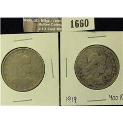1660 _ 1901 & 1919 Brazil 400 Reis.