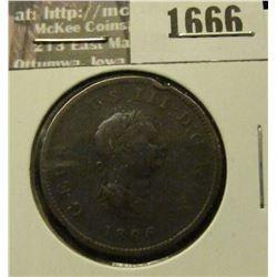 1666 _ 1806 Great Britiain Half Penny.