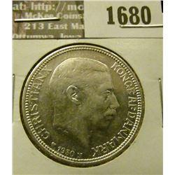 1680 _ 1930 Denmark 2 Korner.