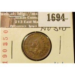 1694 _ 1903 Indian Head Cent. AU-50.