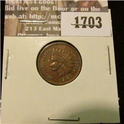 1703 _ 1901 Indian Head Cent. EF-45.