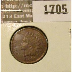 1705 _ 1901 Indian Head Cent. EF-40.