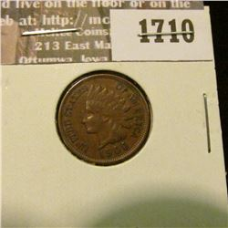 1710 _ 1900 Indian Head Cent. EF-40.