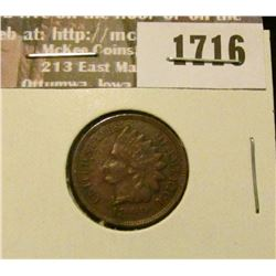 1716 _ 1899 Indian Head Cent. EF-40.