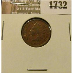 1732 _ 1893 Indian Head Cent. VF-20.