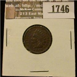 1746 _ 1888 Indian Head Cent. VF-20.