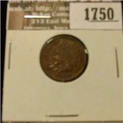 1750 _ 1887 Indian Head Cent. VF-20.
