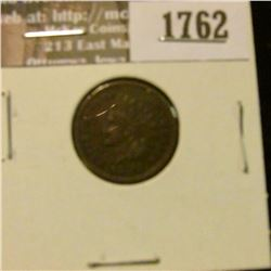 1762 _ 1884 Indian Head Cent. VF-20.