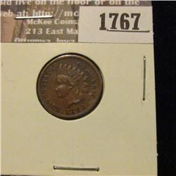 1767 _ 1883 Indian Head Cent. VF-20.