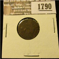 1790 _ 1878 Indian Head Cent. AG-3.