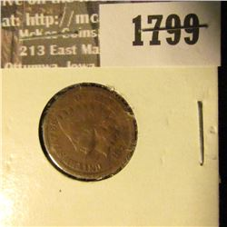 1799 _ 1877 Indian Head Cent. G4.