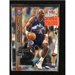 2002-03 Ultra Back 2 Back Utah Jazz Basketball Card #16 Karl Malone