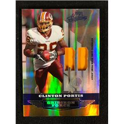 2008 GRIDIRON FORCE CLINTON PORTIS AUTHENTIC GAME WORN JERSEY