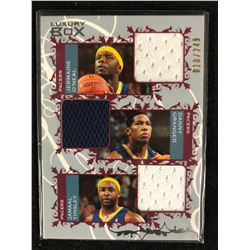 2006-07 Luxury Box Courtside Relics Triple O'Neal Granger/ Tinsley/ Jersey