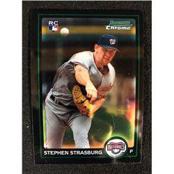 2010 Bowman Chrome #205A Stephen Strasburg Rookie
