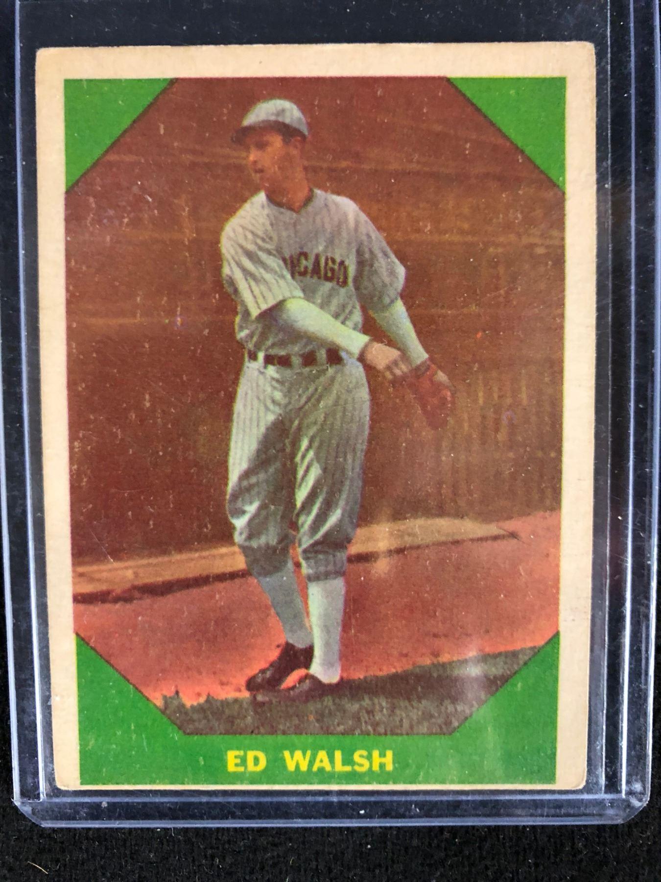 1960 Fleer All Time Greats Baseball Card 49 Ed Walsh
