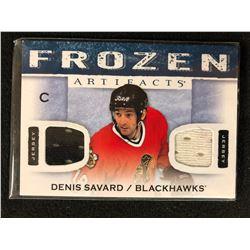 2014-15 Artifacts Denis Savard Frozen Artifacts Dual Jersey