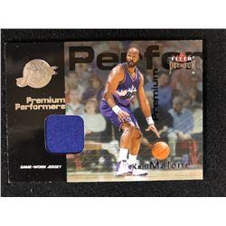 2001-02 Fleer Premium - Premium Performers Jerseys #KAMA Karl Malone
