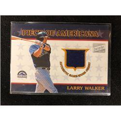 2003 Bazooka Piece of Americana Relics #LW Larry Walker
