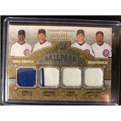 2009 Upper Deck Ballpark Collection #268 Hill/Wood/Ramirez/Lee (029/400)
