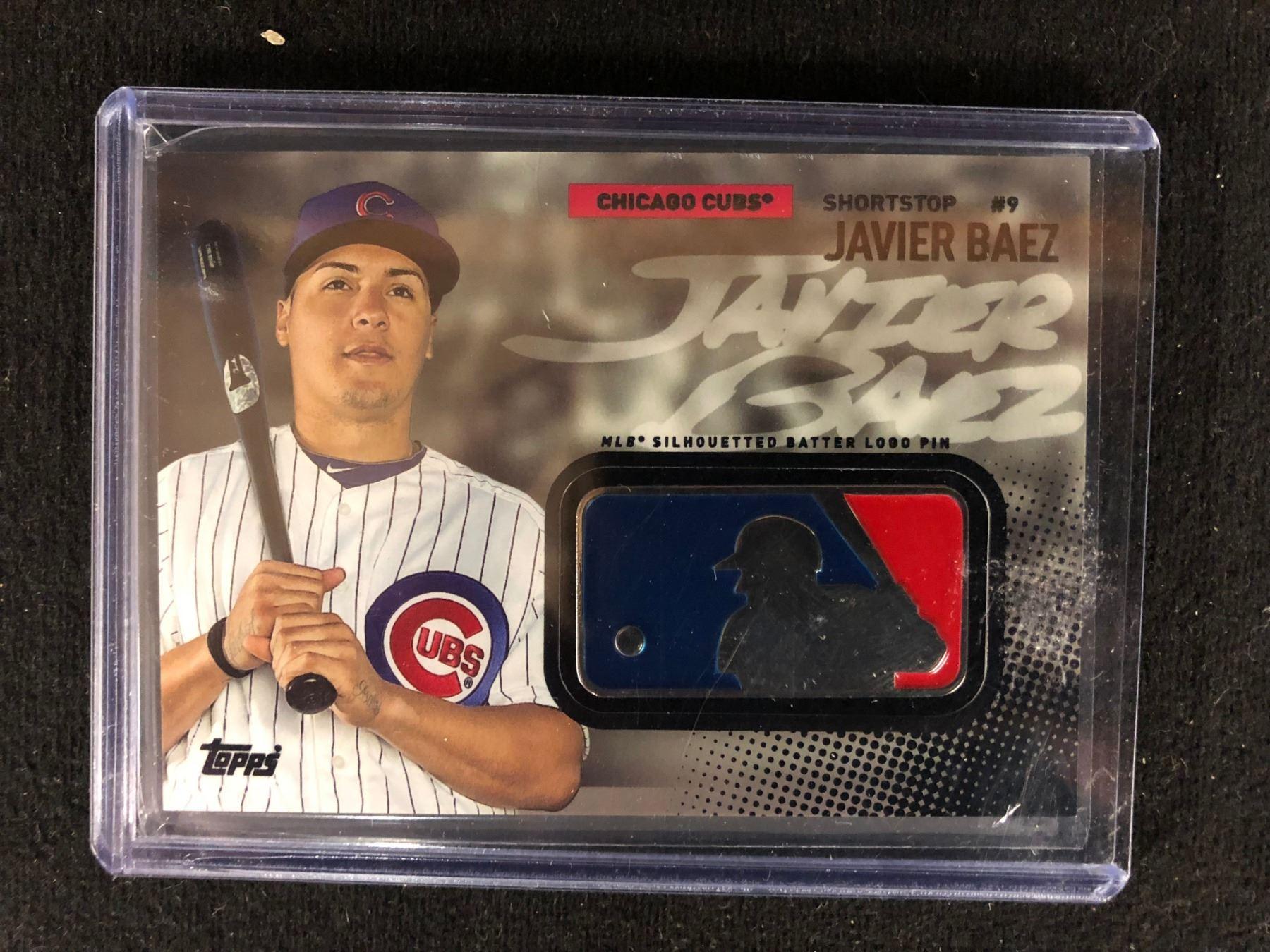 2015 Topps Msbl 18 Javier Baez Chicago Cubs Rookie Baseball Card