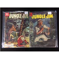JUNGLE JIM COMIC BOOK LOT (DELL COMICS)
