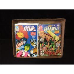 THE NEW TITANS COMIC BOOK LOT (DC COMICS)