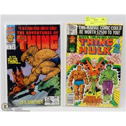 THE THING #1 MARVEL TWO-IN-ONE COMIC BOOKS