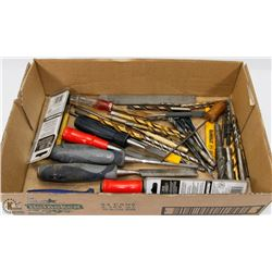 FILES, DRILL BITS, CHISELS & MORE