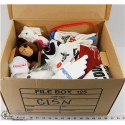 CISN BOX OF COLLECTIBLES