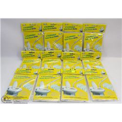 12 PACKS OF FLUSHABLE TOILET BRUSH REFILLS
