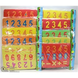 BUNDLE OF KIDS MATH FOAM PLAY PUZZLES