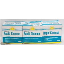 3 BOXES OF RAPID CLEANSE 7 DAY PROGRAM