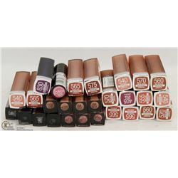 BAG OF ASSORTED LIPSTICKS
