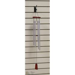 CHROME 6 TUBE WIND CHIMES