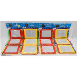 LOT OF 12 MAGNETIC BOARDS