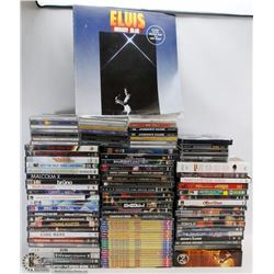 LOT OF ASSORTED DVDS
