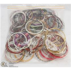 BAG OF 150 FASHION BRACELETS