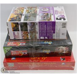BUNDLE OF PUZZLES INCLUDING PUZZ 3D 250PC SET
