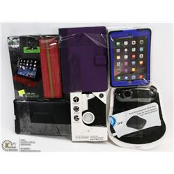 BUNDLE OF TABLET CASES AND MORE
