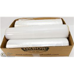 BOX W/3 ROLLS OF PLASTIC WRAP -