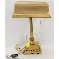 VINTAGE BANKERS LIGHT WITH